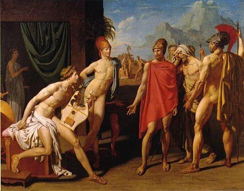 akhilleus-arkadasi-patroklosun-cadirinda-dinlenmekteyken