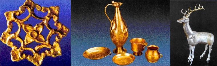 Kazılarda Çıkan Madeni Eserler