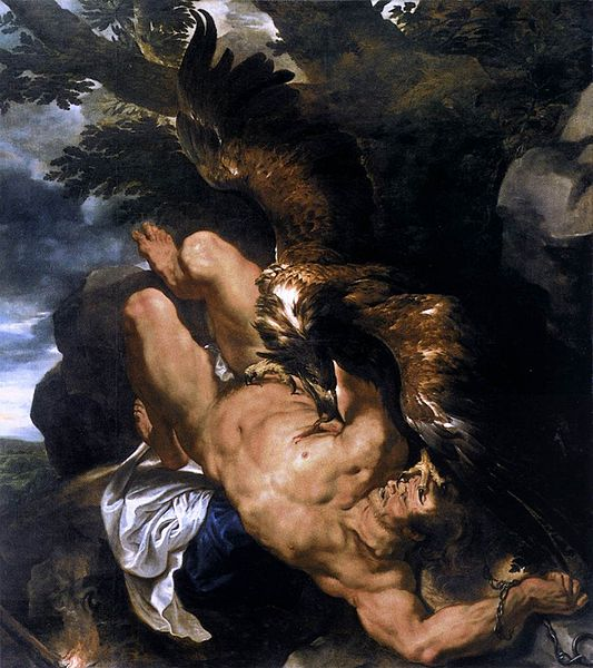 prometheus-bound-peter-paul-rubens1610-1611