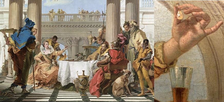 The Banquet of Cleopatra - Giambattista Tiepolo (1744)
